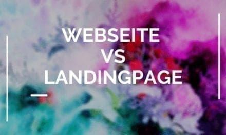 Landingpage vs. Website – Ein SEHR Wichtiger Unterschied