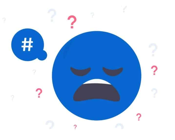 Instagram Hashtag Fehler