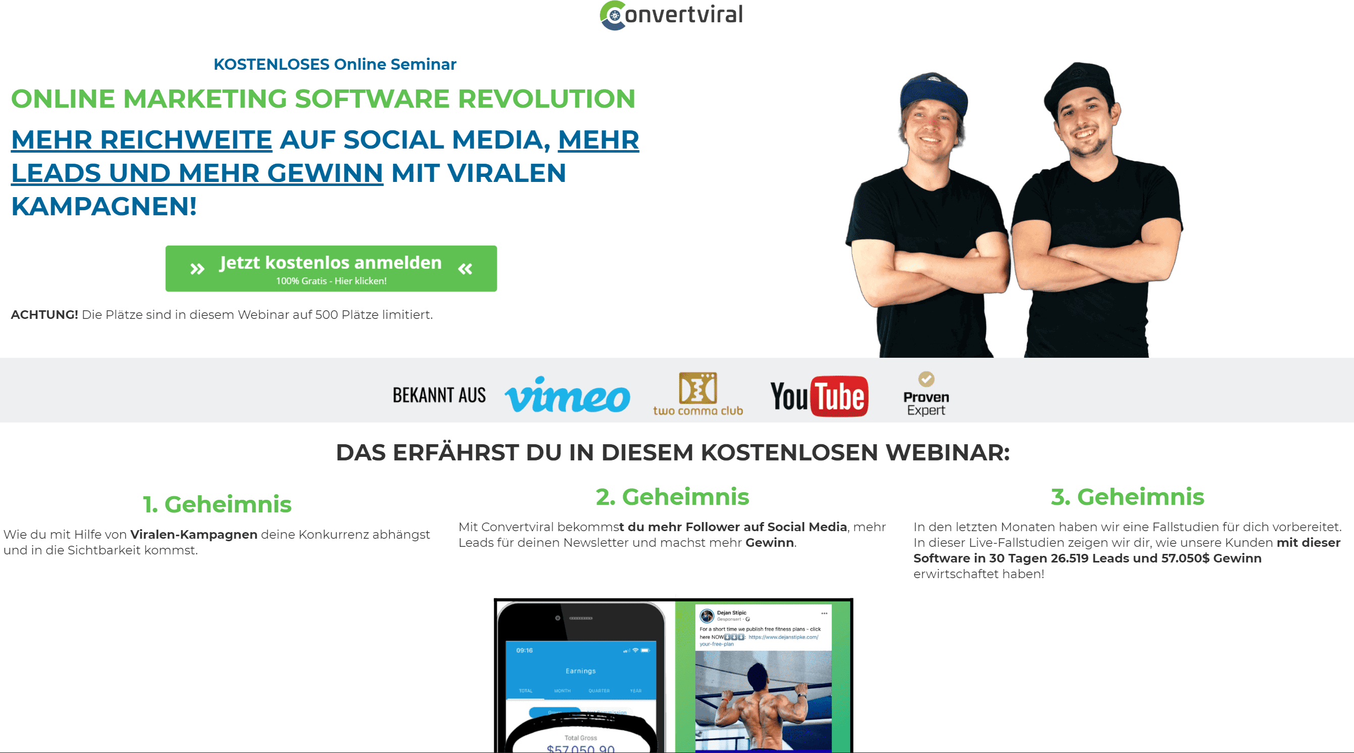 Convertviral Opt In