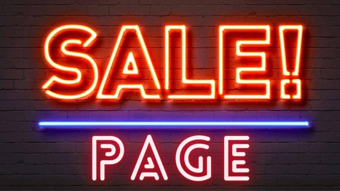 Die 5 WICHTIGSTEN Elemente um eine CONVERSIONSTARKE Sales Page bzw. Landingpage zu erstellen