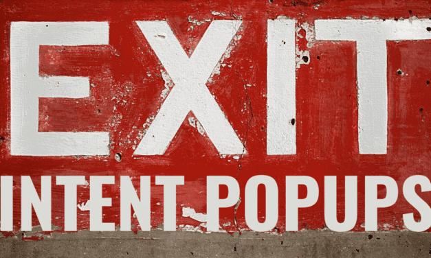 Wie Du mit Exit Intent Pop up fenster MEHR Newsletter Abonnenten & MEHR Umsatz erzielen und Deine Conversion optimieren kannst