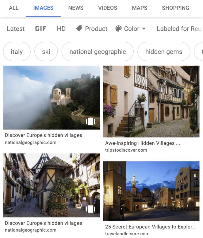 Web Stories Google Bilder