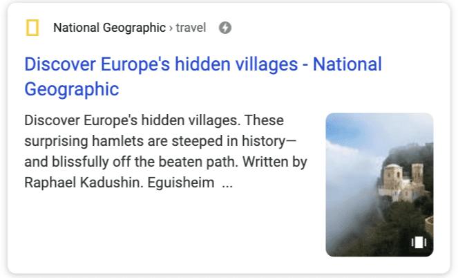 Web Stories Google Suche