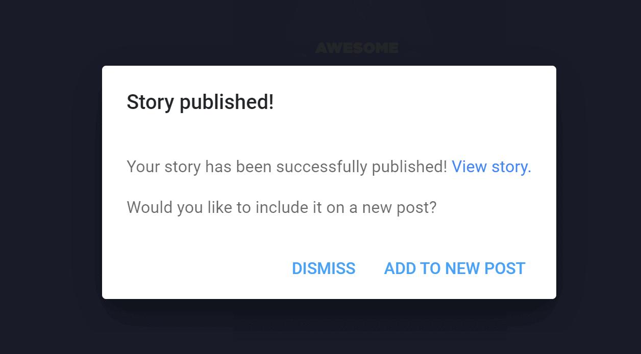 Google Web Stories Veröffentlichen