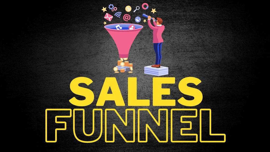 Sales Funnel erstellen und bauen anhand Verkaufstrichter Beispiele, Vorlage & Software Empfehlungen