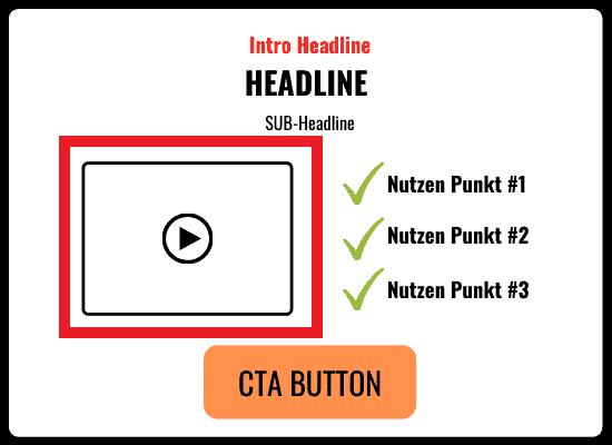 Perfekte Webinar Landing Page erstellen Video