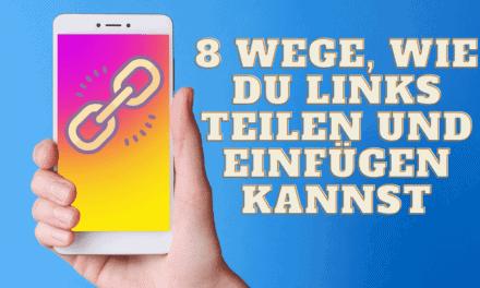 8 Wege, wie Du Links auf Instagram teilen & einfügen kannst [Story Swipe up, Bio, usw.]