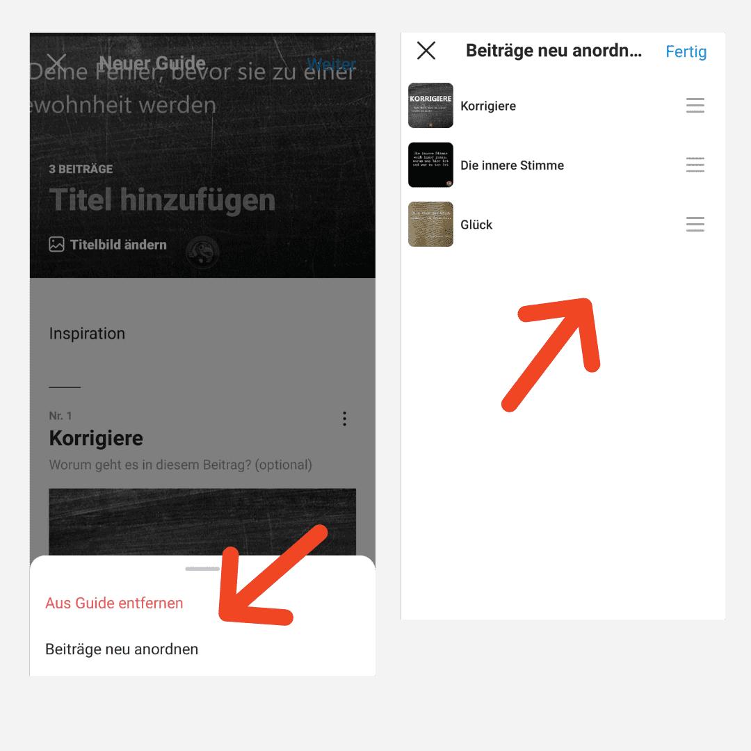 Instagram Guides Anleitung