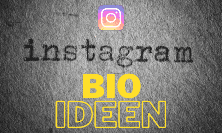 10 Instagram Bio Ideen für herausragendes Design, andere Schrift, orientierbare Vorlage und einen praktischen Generator um eine herausragende Instagram Bio erstellen zu können