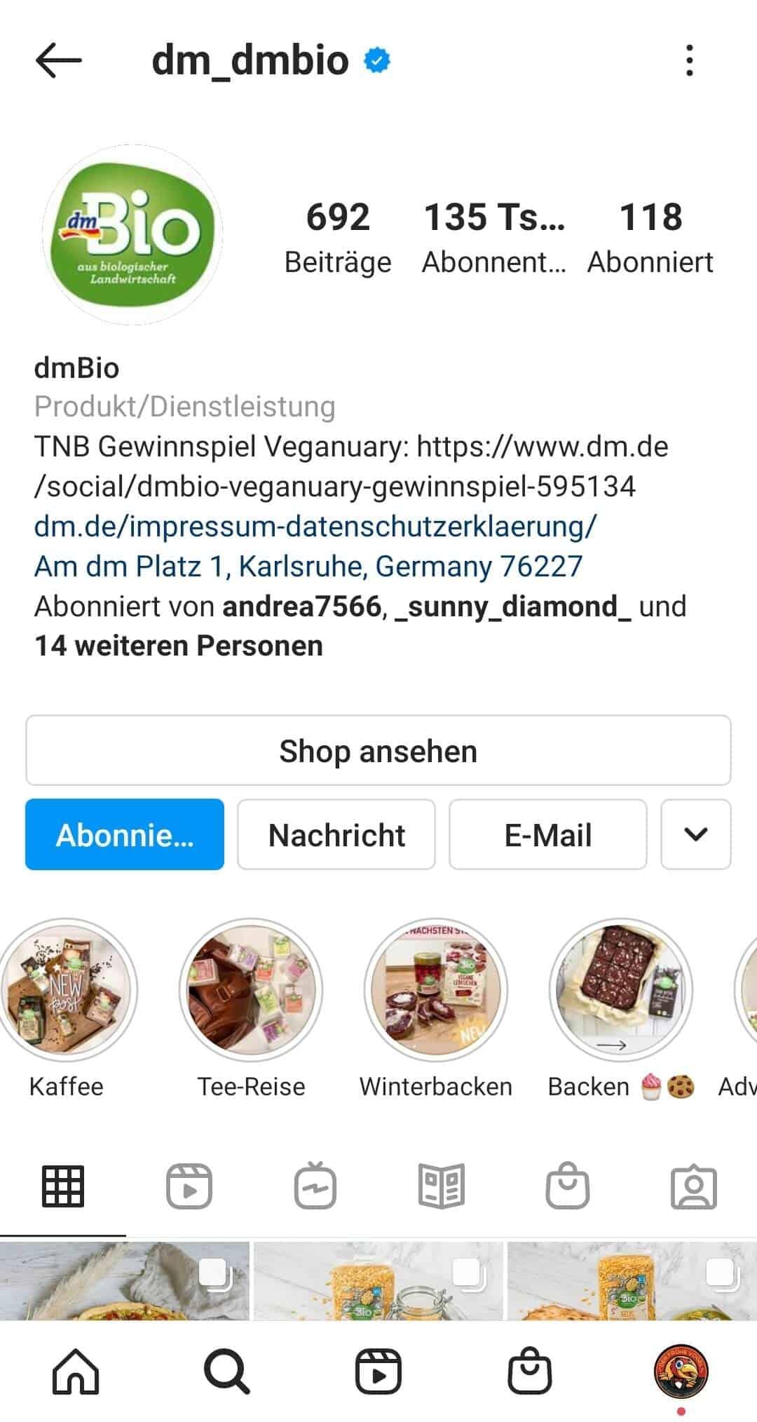 Instagram Story Highlights Cover erstellen Beispiel Kategorien