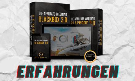 Affiliate Webinar Blackbox 3.0 von Ralf Schmitz – Erfahrungen, Test, Preise, Kosten und Nutzen?