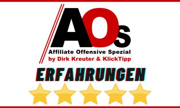Affiliate Offensive 2021 Spezial – Erfahrungen, Themen, Programm, Speaker, Preise, Kosten