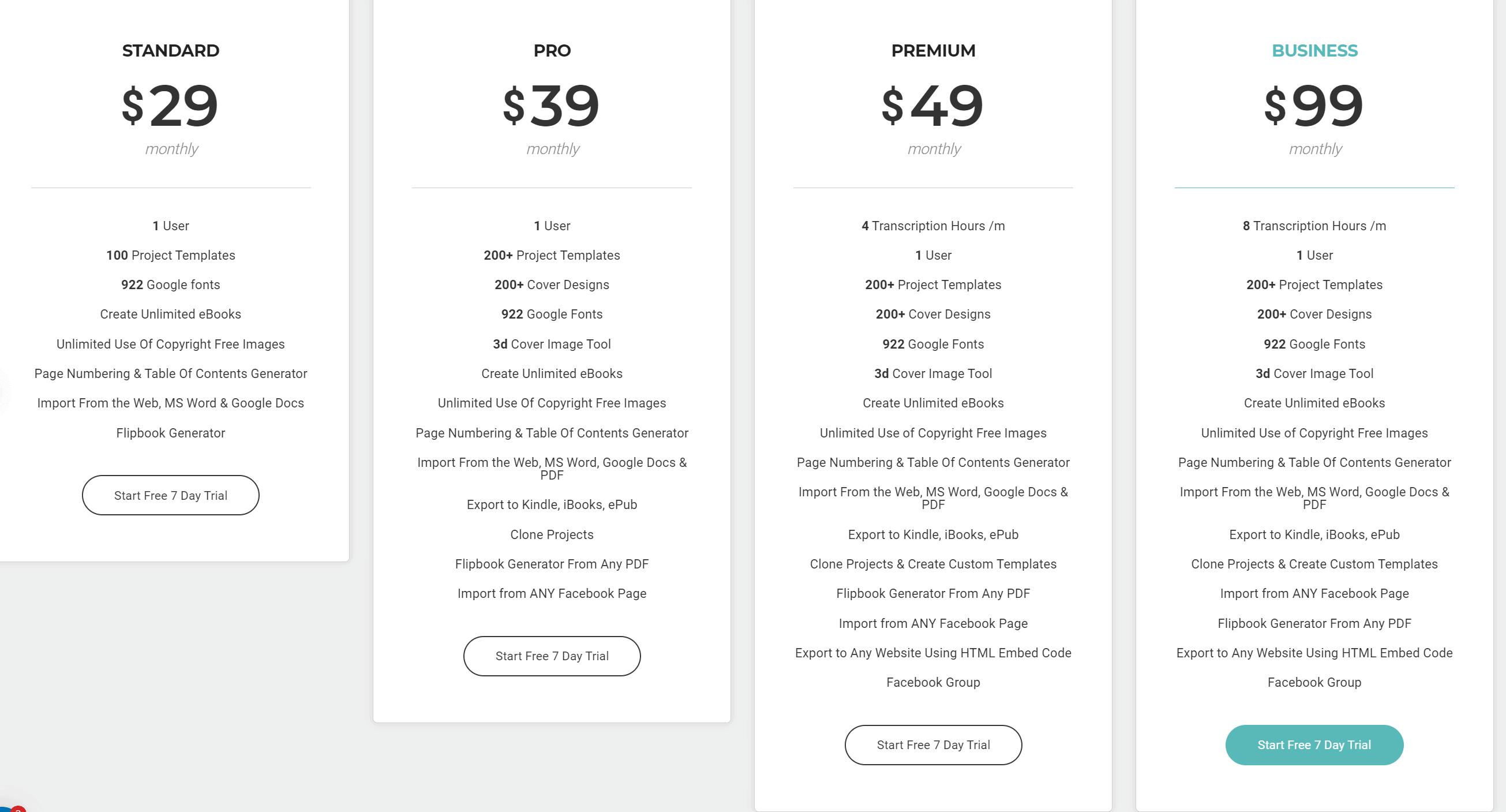 Designrr Preise Kosten