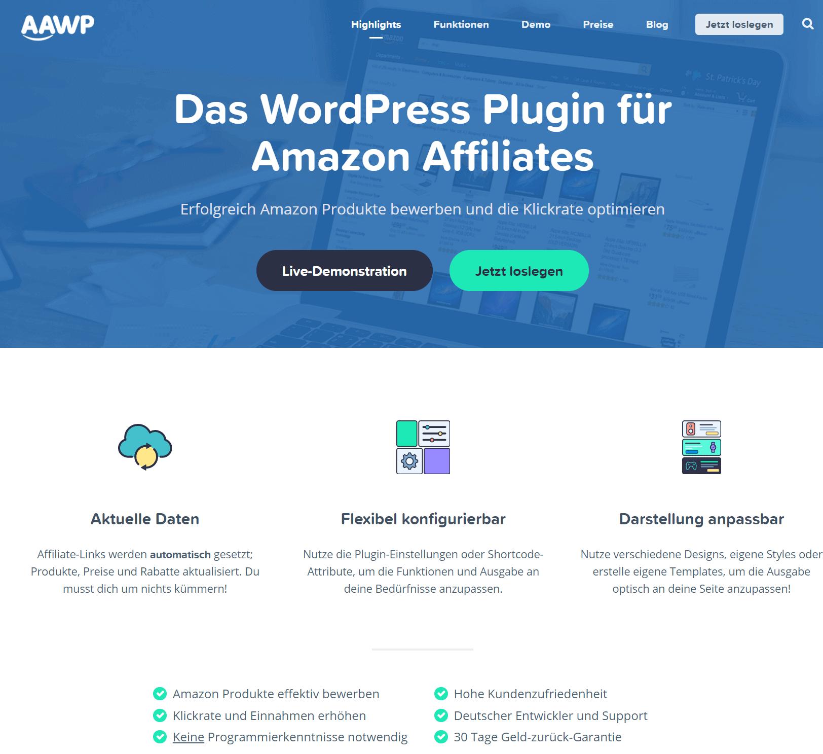 AAWP Amazon WordPress Plugin