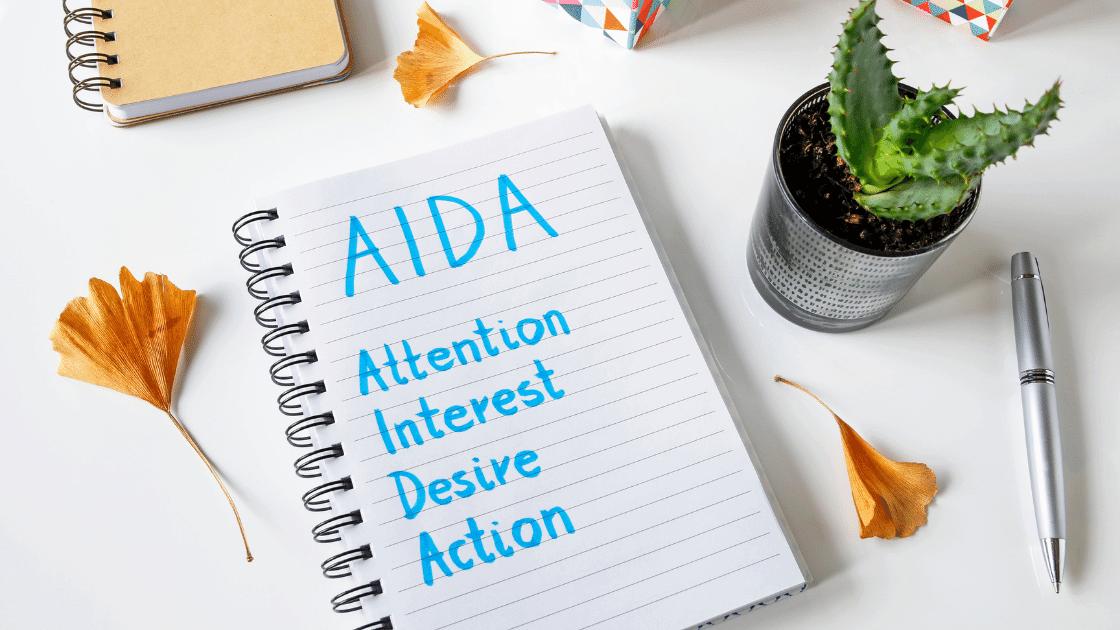 AIDA Formel um damit einen Sales Funnel erstellen zu können