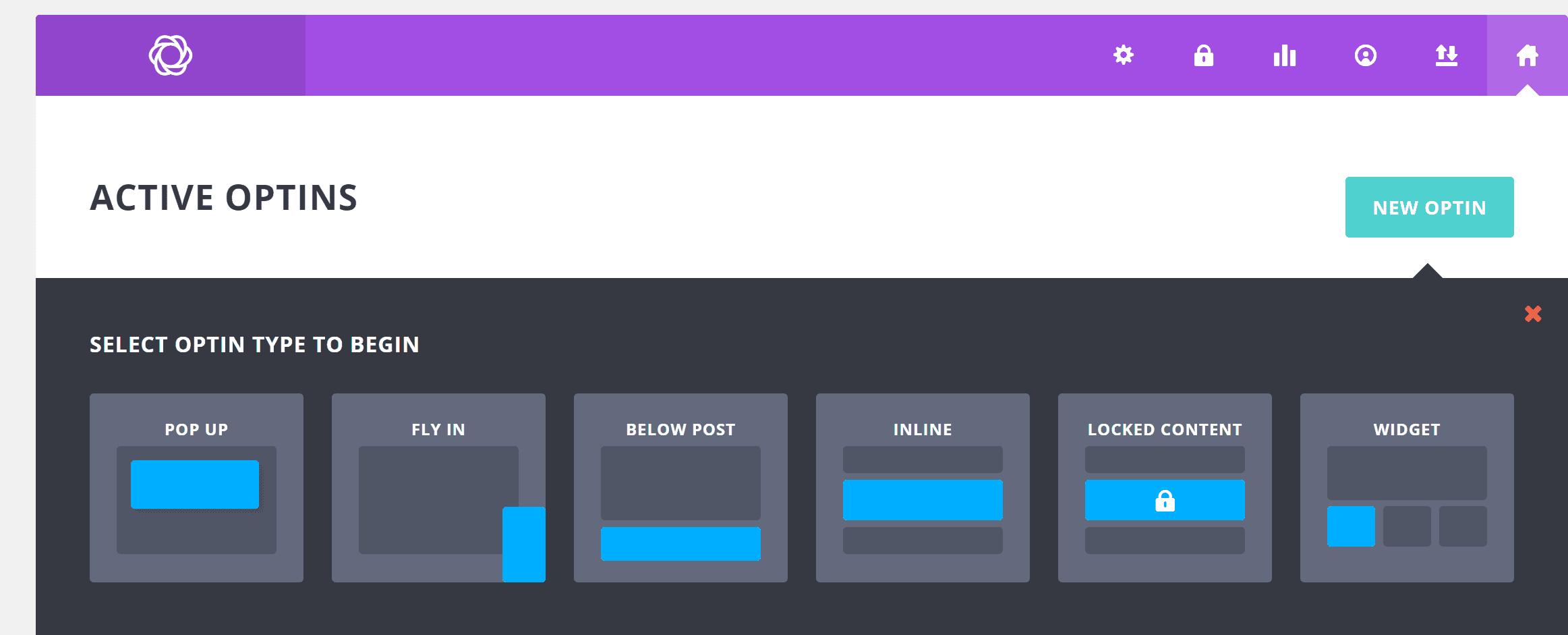 Bllom Opt In Forms pop ups