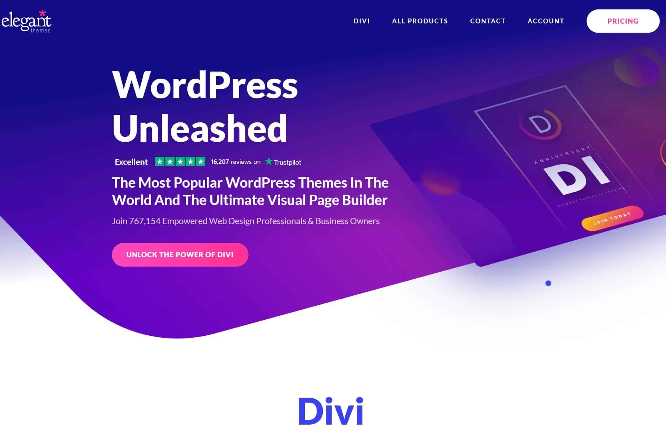 Divi Builder WordPress