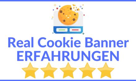 Real Cookie Banner Erfahrungen & Test 2021 – Alles Wichtige zu Funktionen, Preise, Kosten und Einrichtung [Ultimative Anleitung]