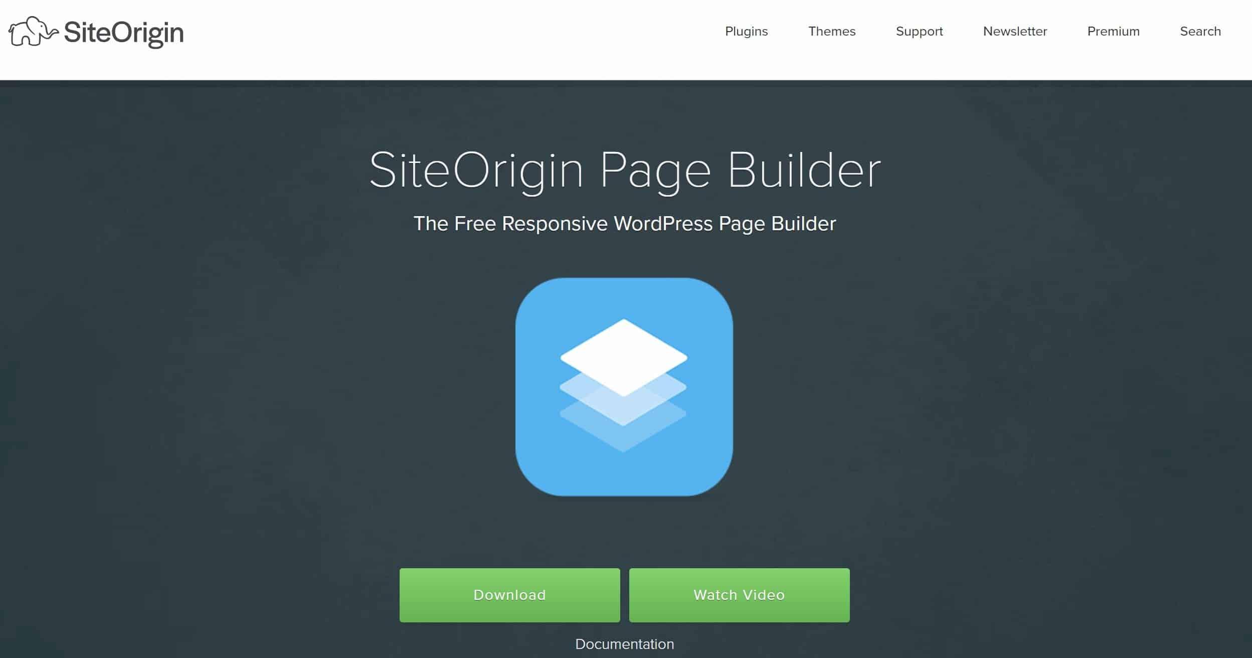 SiteOrigin WordPress Builder
