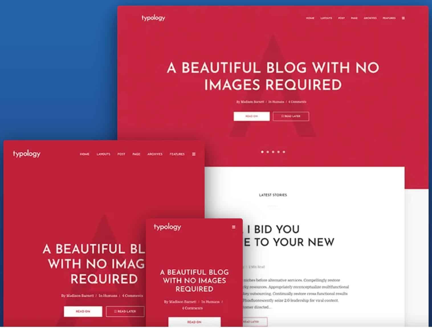 Typology-WordPress Blog Theme