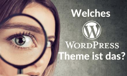 Welches Theme ist das? – Wie Du herausfindest, welches WordPress Theme verwendet wird?
