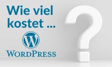 WordPress Kosten & Preise 2021 – Wie viel kostet WordPress wirklich?