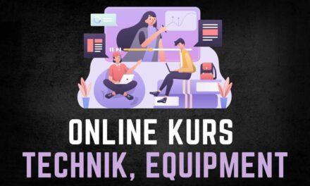 Beste Ausrüstung, Technik & Equipment für Online Kurse – Mikrofon, Kamera, Software, Beleuchtung, Zubehör und vieles mehr