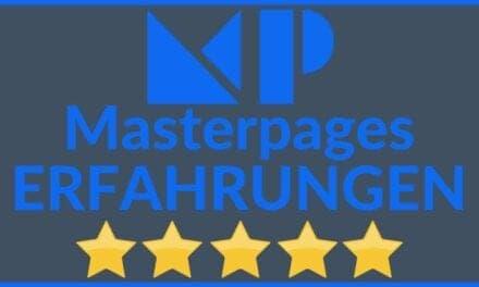 Masterpages Erfahrungen & Test 2021 – Alles was Du zu Funktionen, Preise, Kosten und Alternativen wissen musst