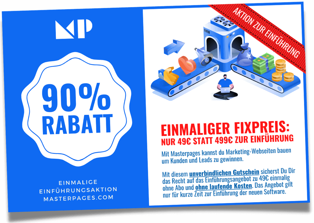 Masterpages Angebot