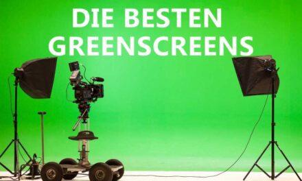 Streaming Greenscreen Test 2021: Was ist der Beste Green Screen Hintergrund zum streamen?
